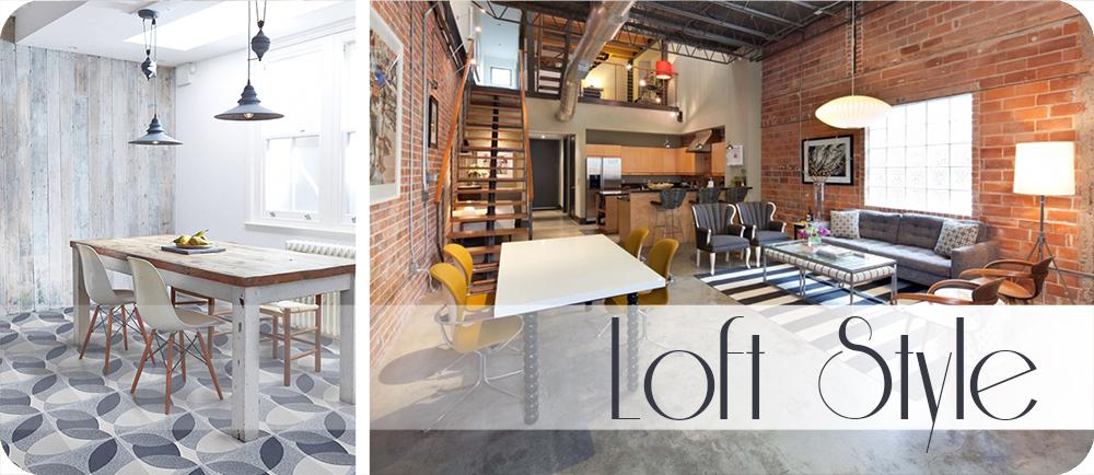 Stilul Loft in designul interior – industrializarea!
