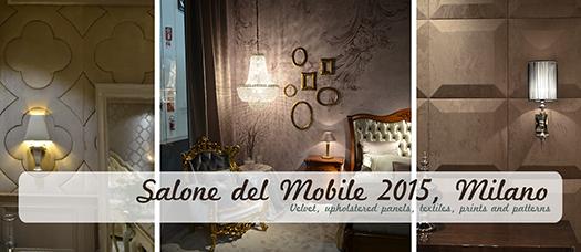 Salone del Mobile 2015, Milano - de la clasic la modern!