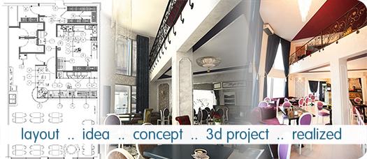 Principalele particularitati in proiectarea si amenajarea interioara a restaurantelor, bistrourilor sau a locatiilor food service