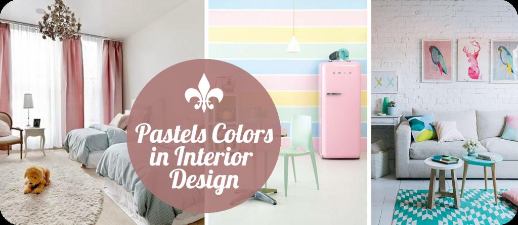 Trendul primaverii: Culori pastelate in designul interior