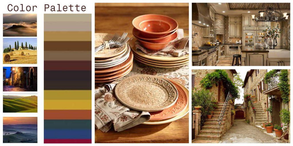 Stilul Toscan in designul interior
