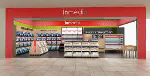 Design Interior Retail – Magazin Inmedio mega Mall