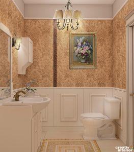 Design interior Casa clasica in stil baroc modern