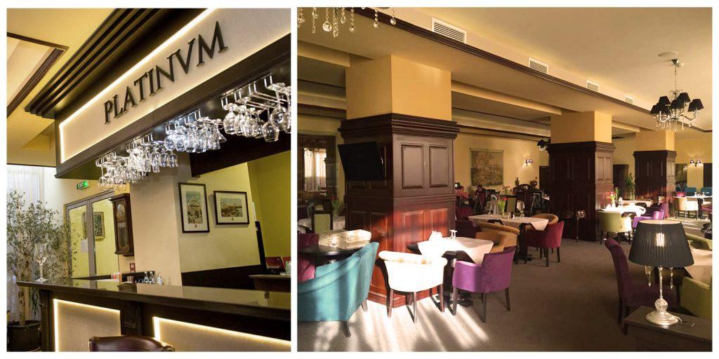 Amenajare interioara Restaurant Platinum, Brasov