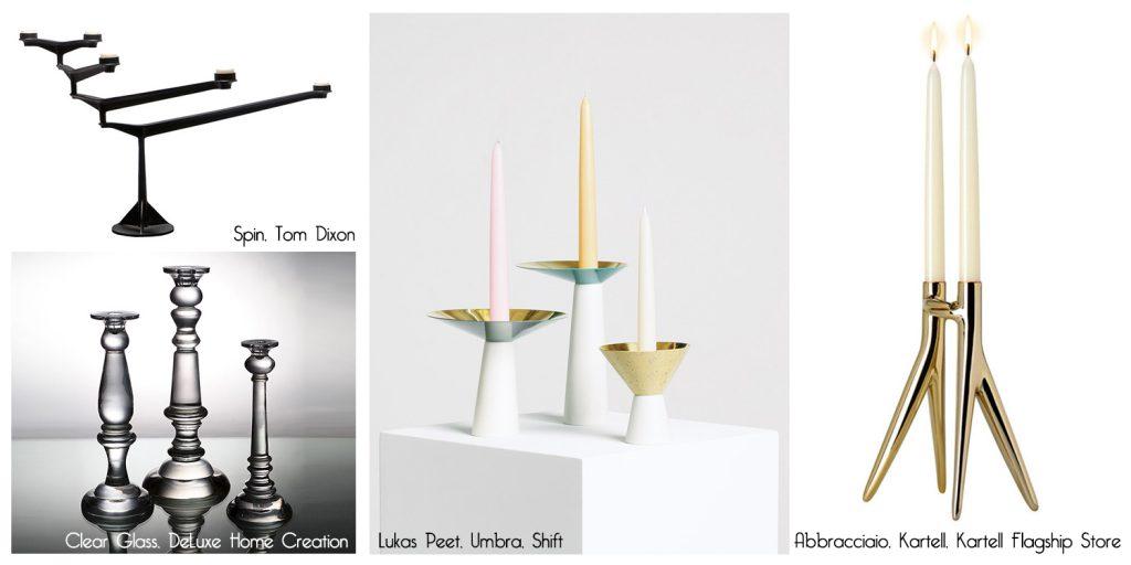 Idei de decor: Cum sfesnicile se pot integra intr-un interior modern