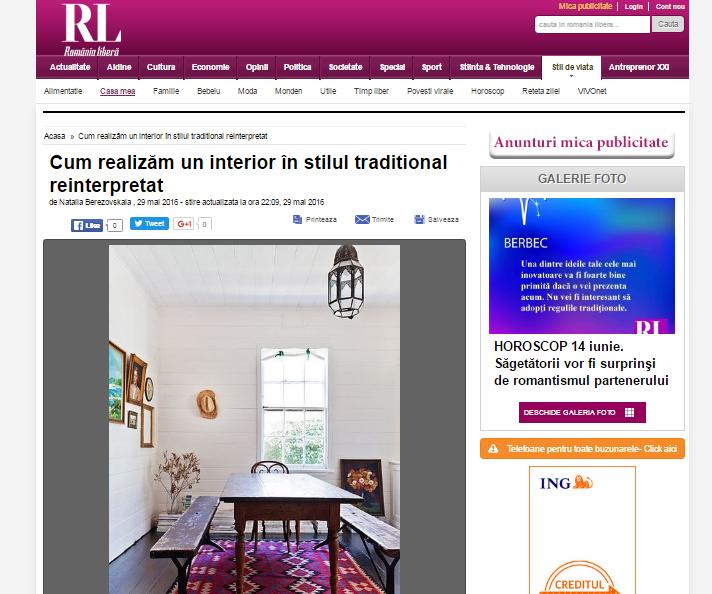 Cum realizăm un interior în stilul traditional reinterpretat