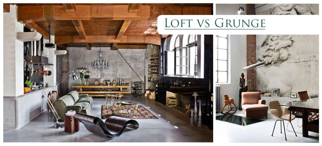 loft vs grunge