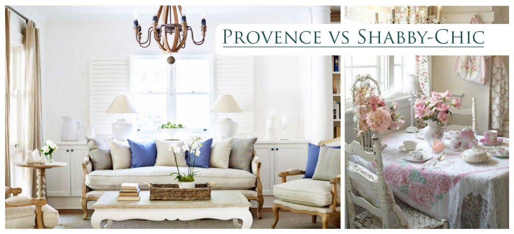 provence vs shabby-chic
