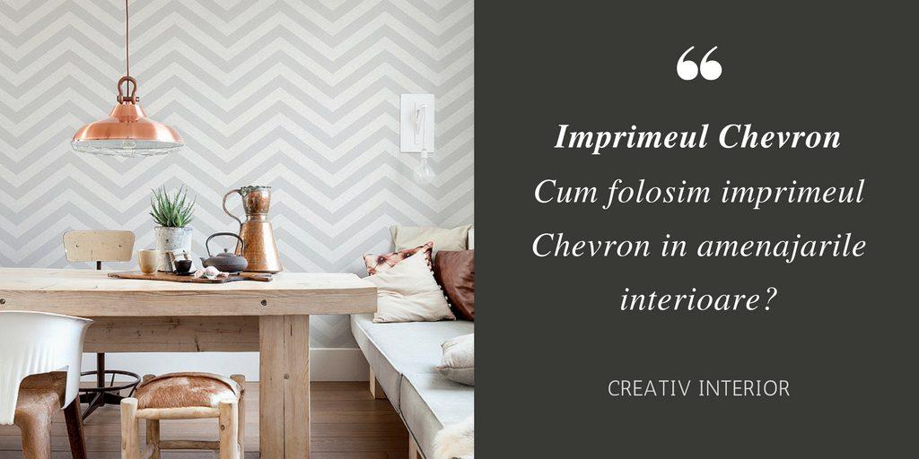 Imprimeul Chevron in designul interior
