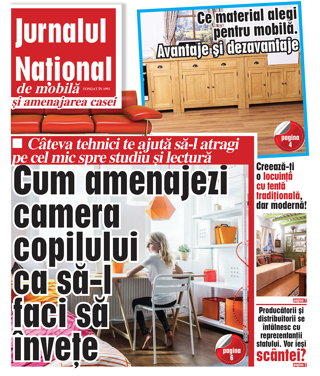 Jurnal national stil traditional romanesc creativ interior