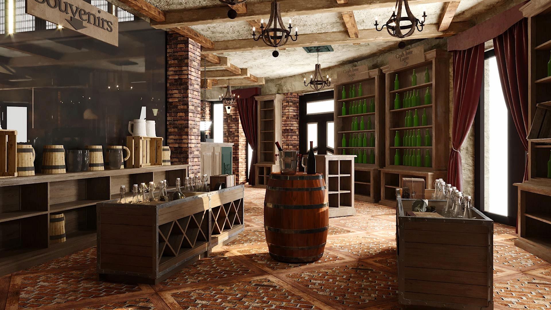 Design interior Beraria Fort