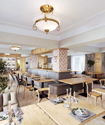 Design interior Bistro French Domeniile Panciu