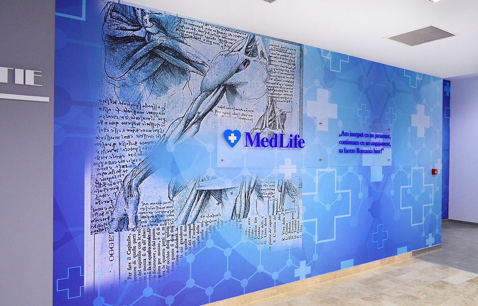 Design interior Clinica Medicala Medlife