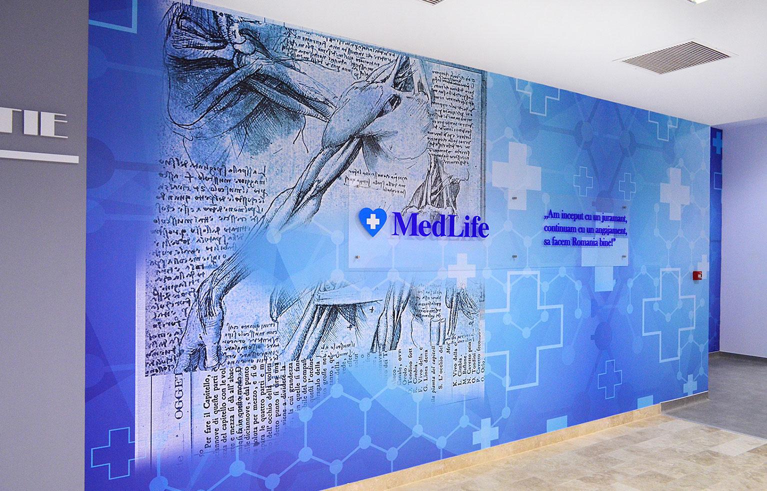 Design interior Clinica Medicala Medlife