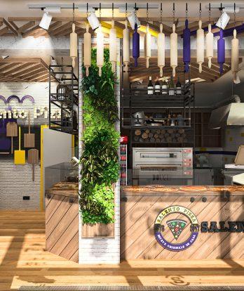 Design interior Pizzerie Salento