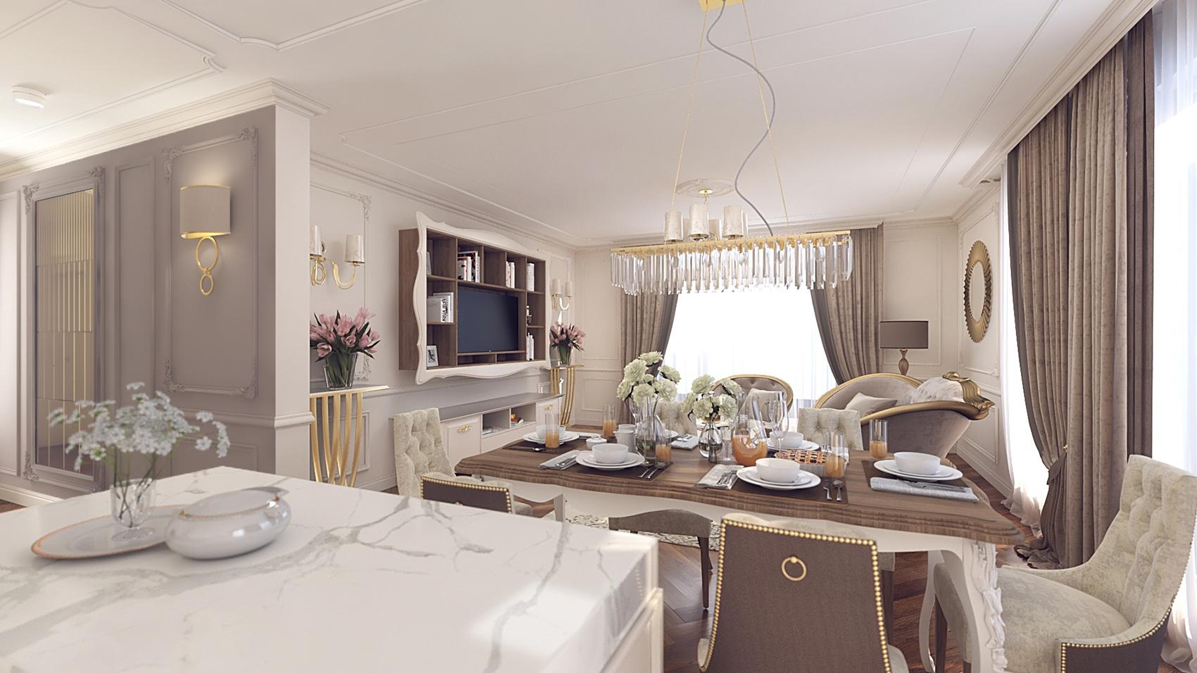 Design interior apartament Valletta