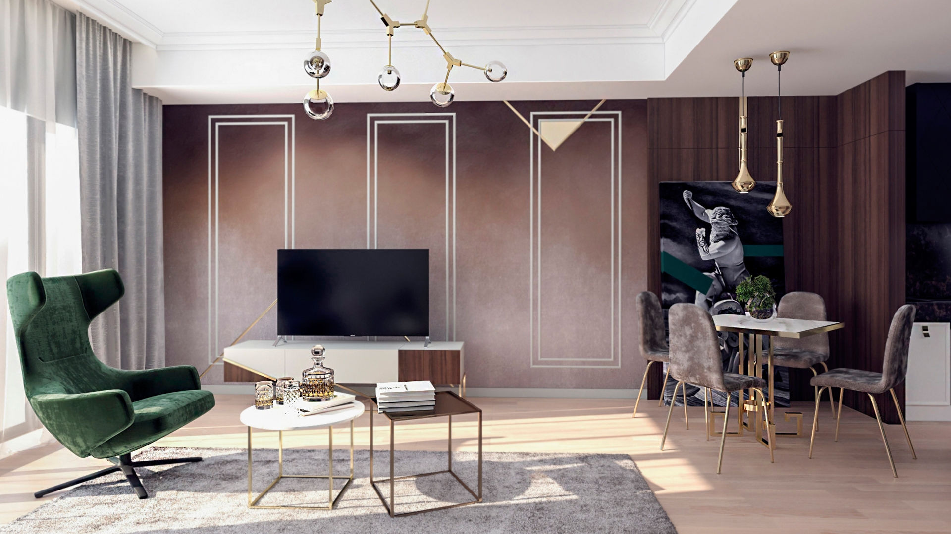 Design interior apartament one herestrau