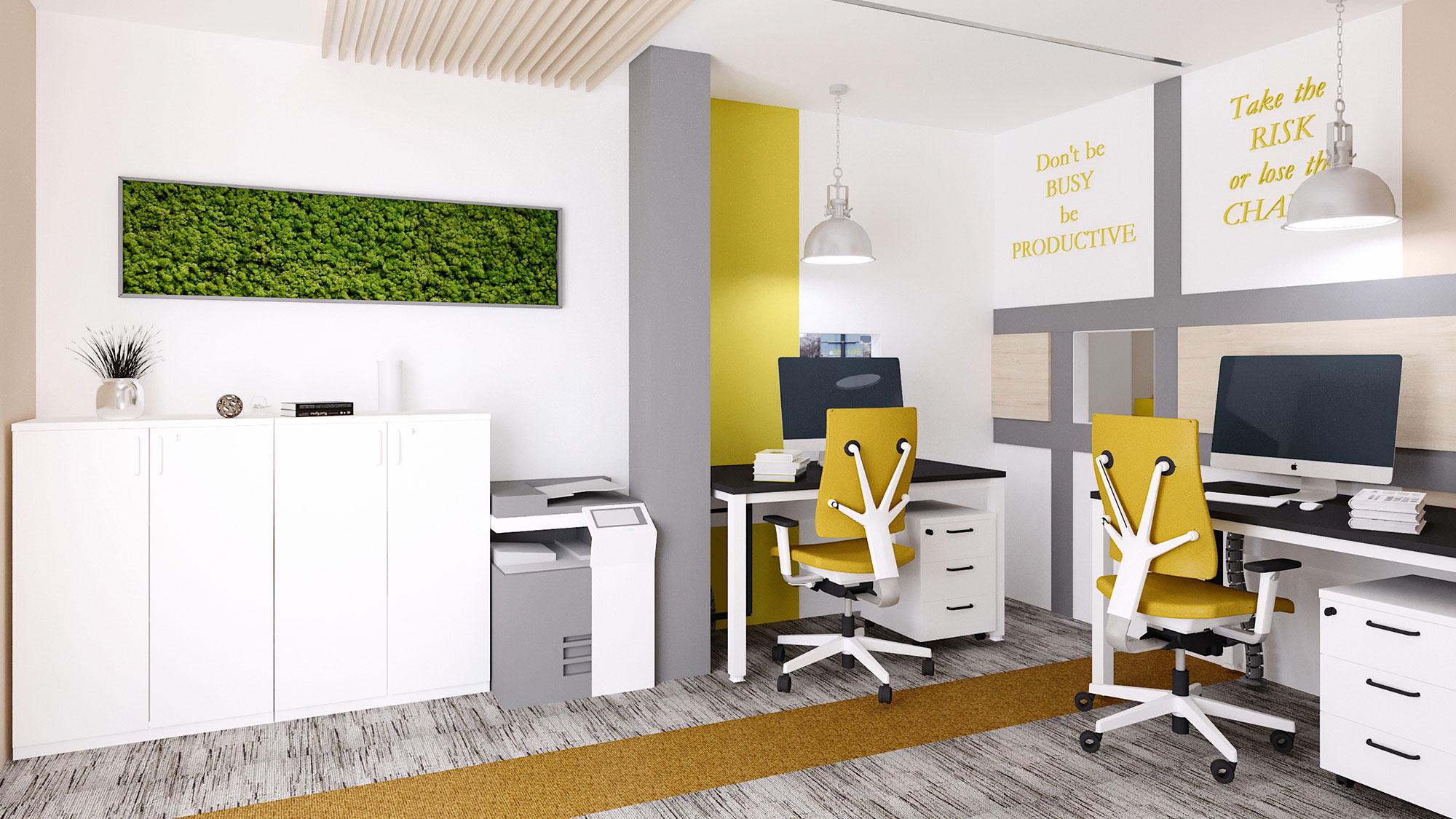 Design interior birouri InterCars