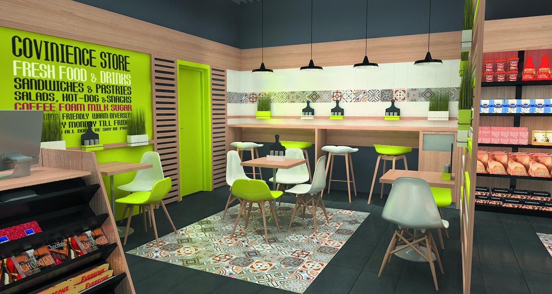 design interior 1 minute Floreasca randare