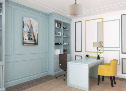 design interior birou hr randare
