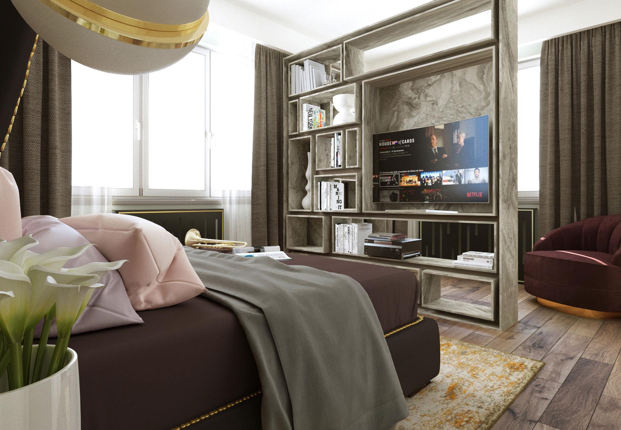 design interior duplex loft chic