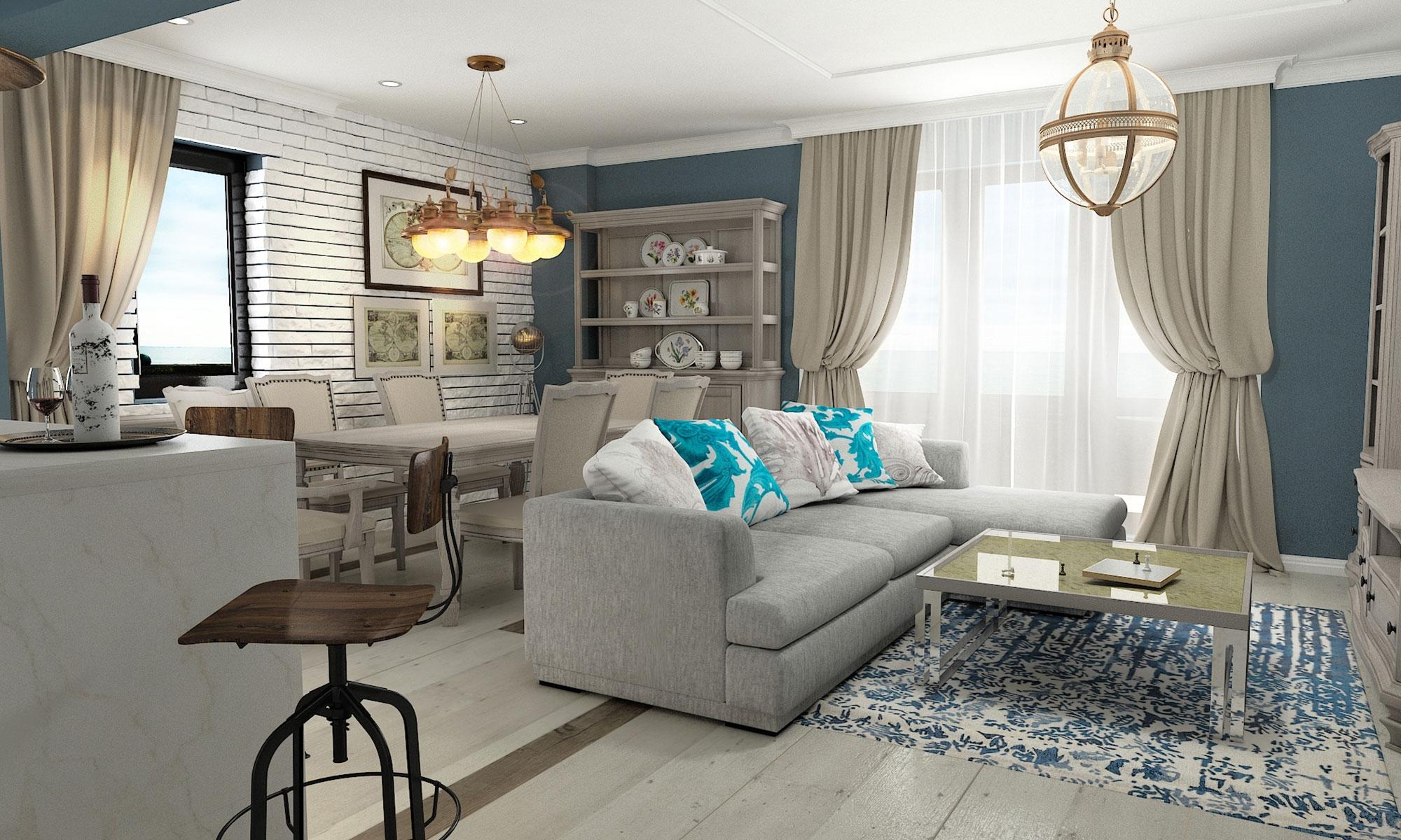 design interior duplex navodari