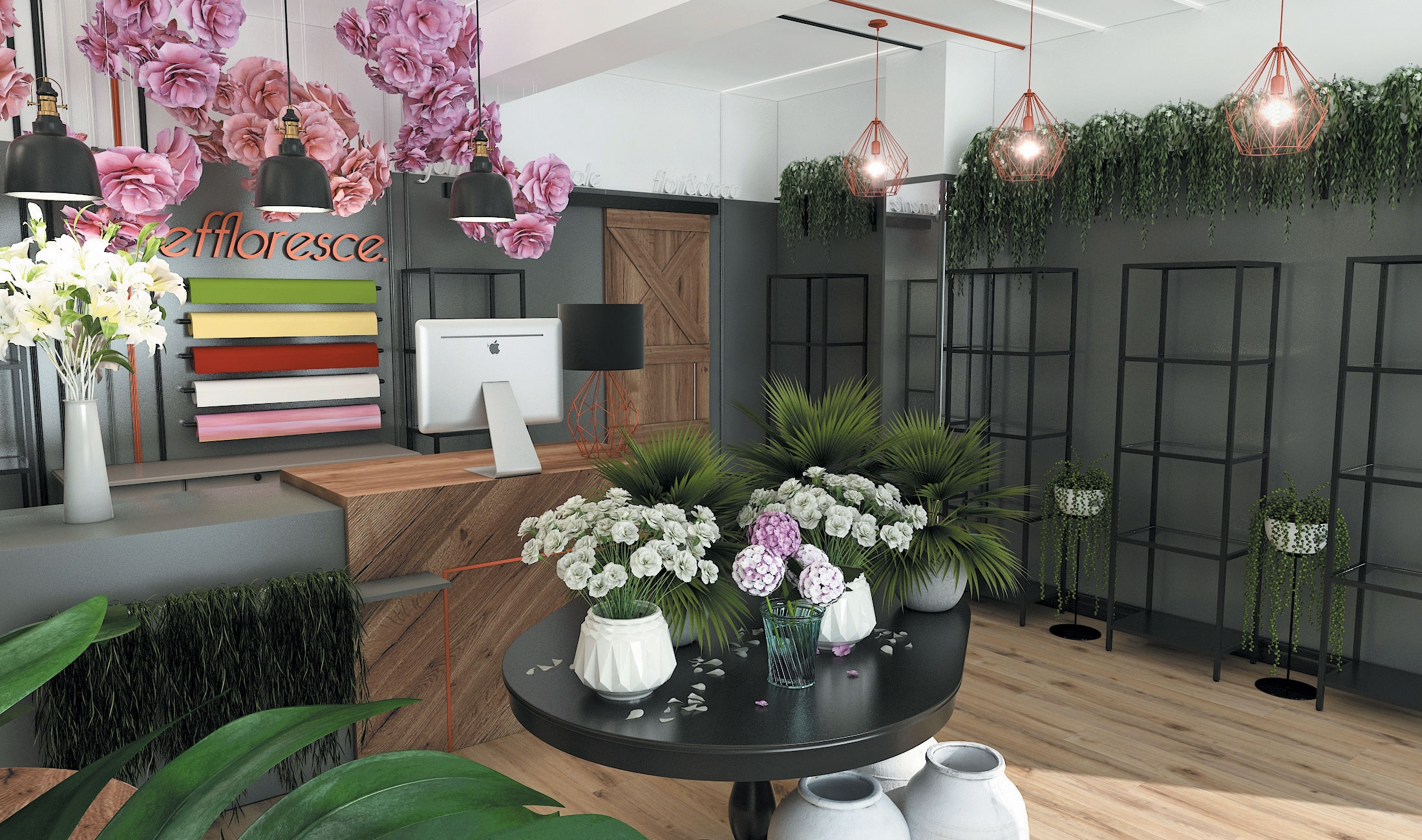 design interior effloresce randare