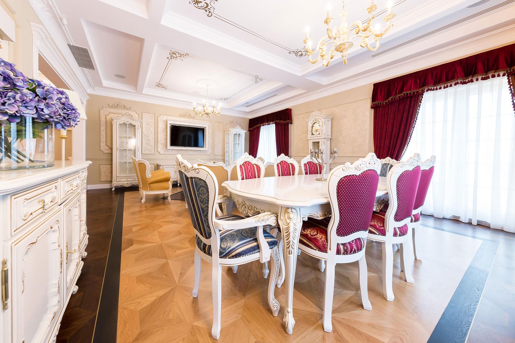 design interior penthouse clasic realizat
