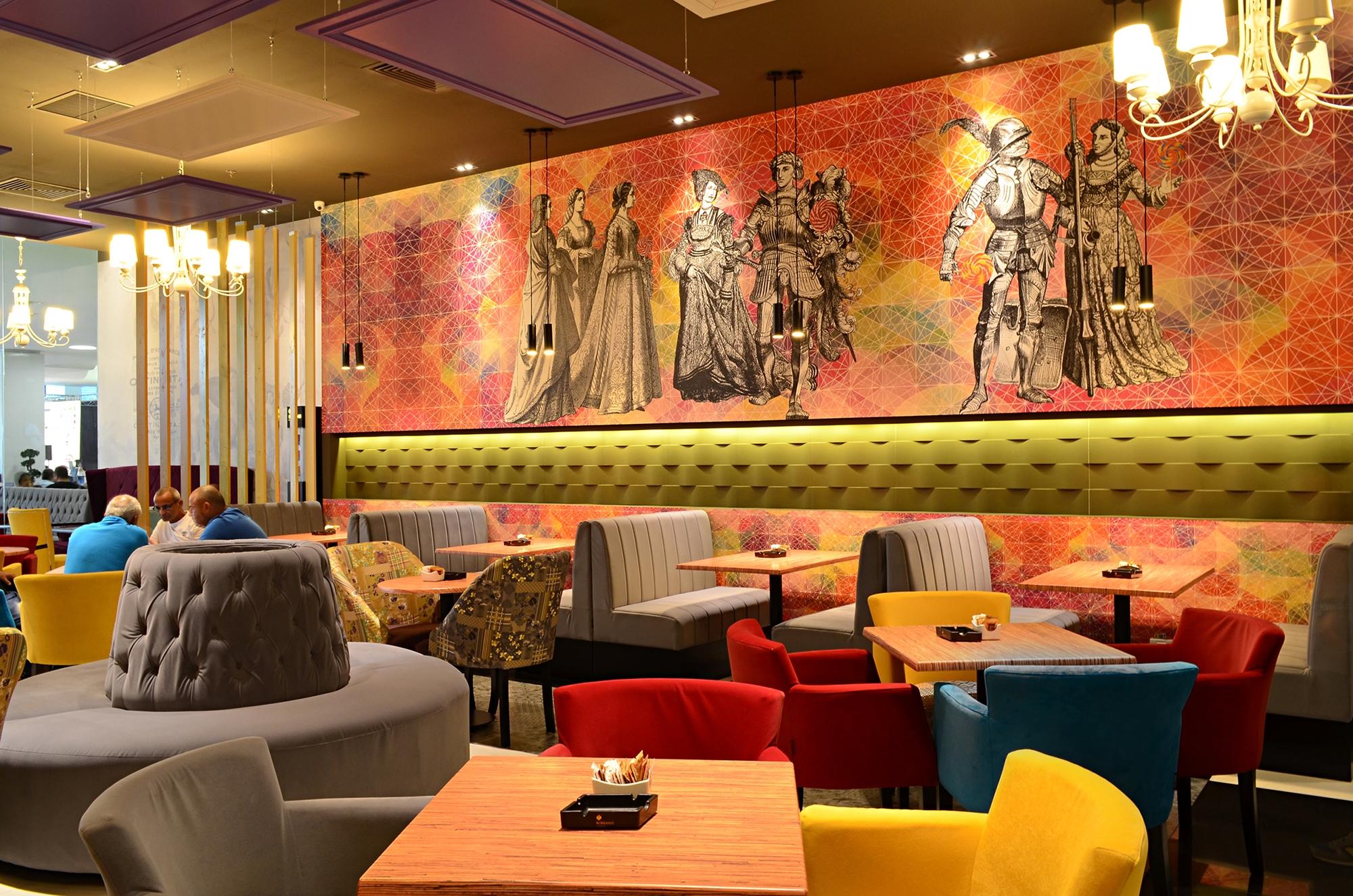 design interior restaurant lollypop